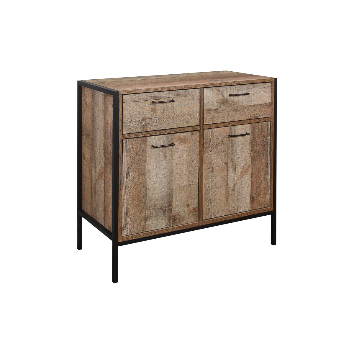 Metro 2 Door 2 Drawer Sideboard - Ezzo