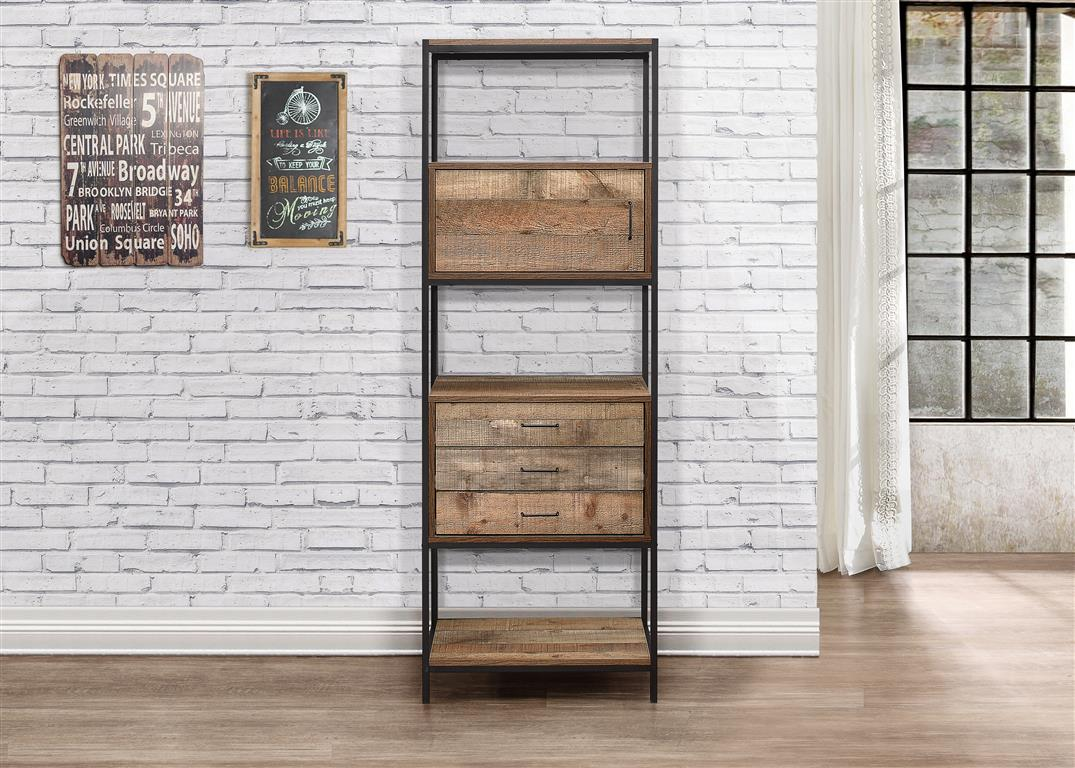 Metro 3 Drawer Shelving Unit
