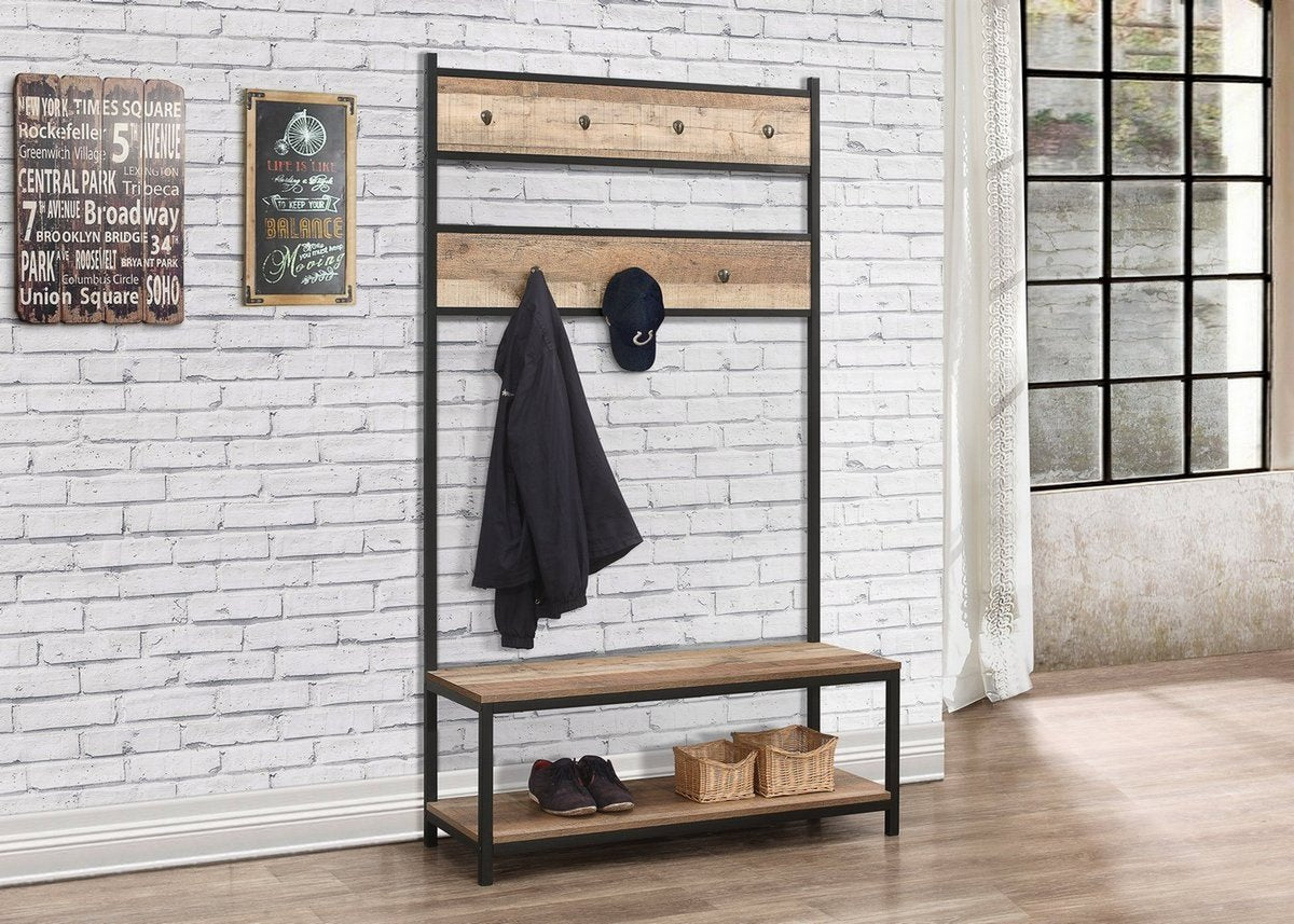 Metro Coat Rack and Bench - Ezzo