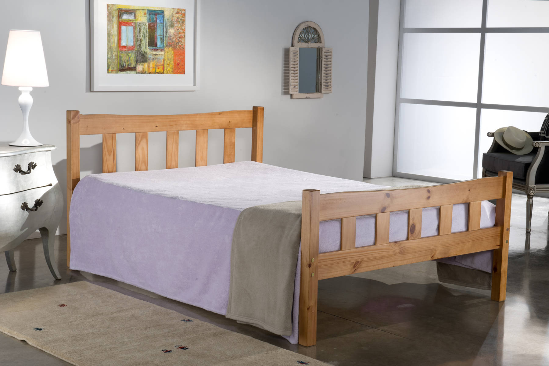 Florida Queen Size Bed - Ezzo