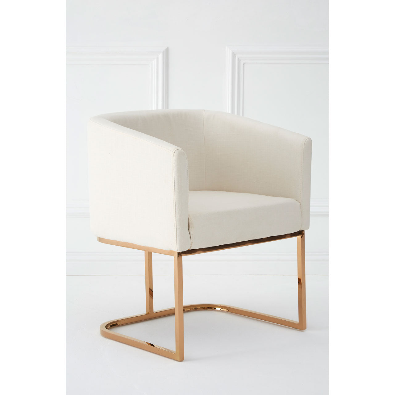 Moda Dining Chair in Ivory