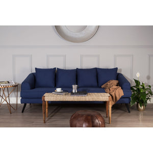 Mylo 3 Seater Sofa Navy