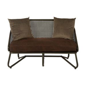 New Foundry 2 Seat Sofa With Curved Legs