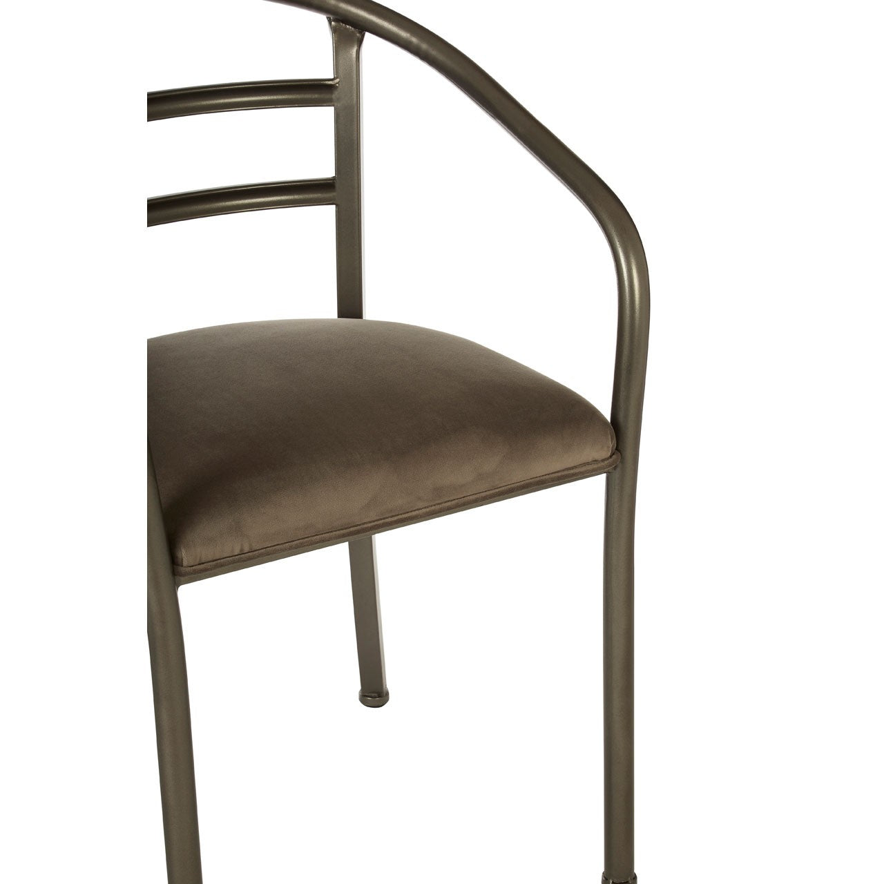 New Foundry Armchair With Curved Backrest