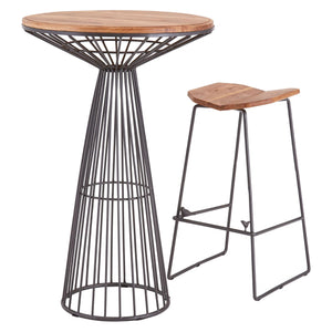 New Foundry Cage Bar Table