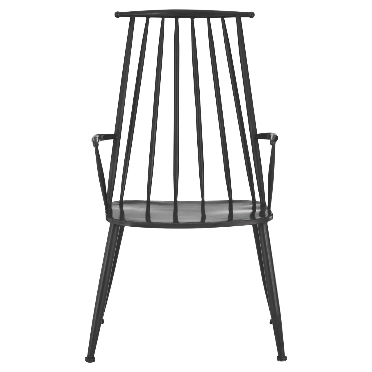 New Foundry Armchair in Steel