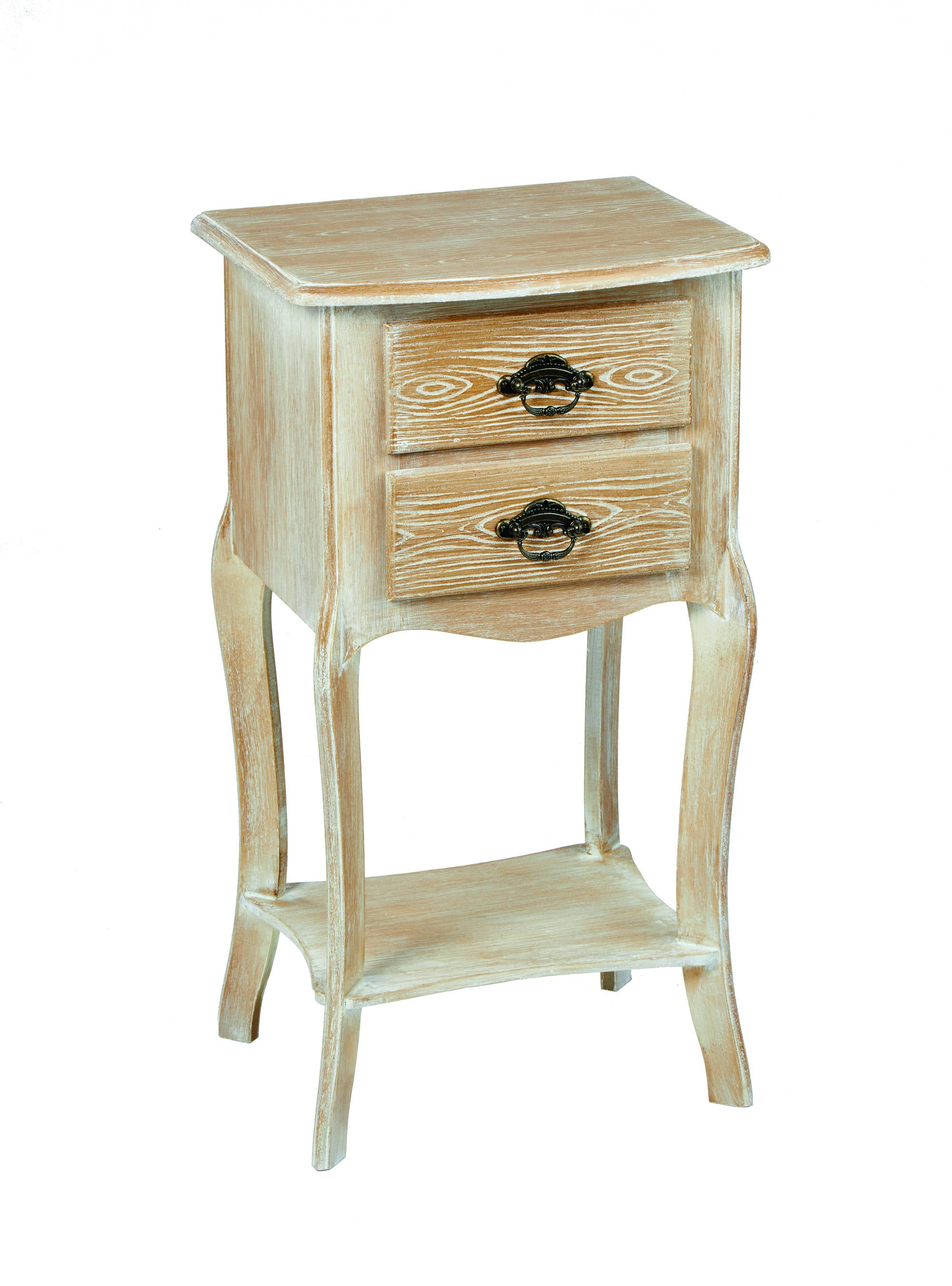 Nimes 2 Drawer Table - Ezzo