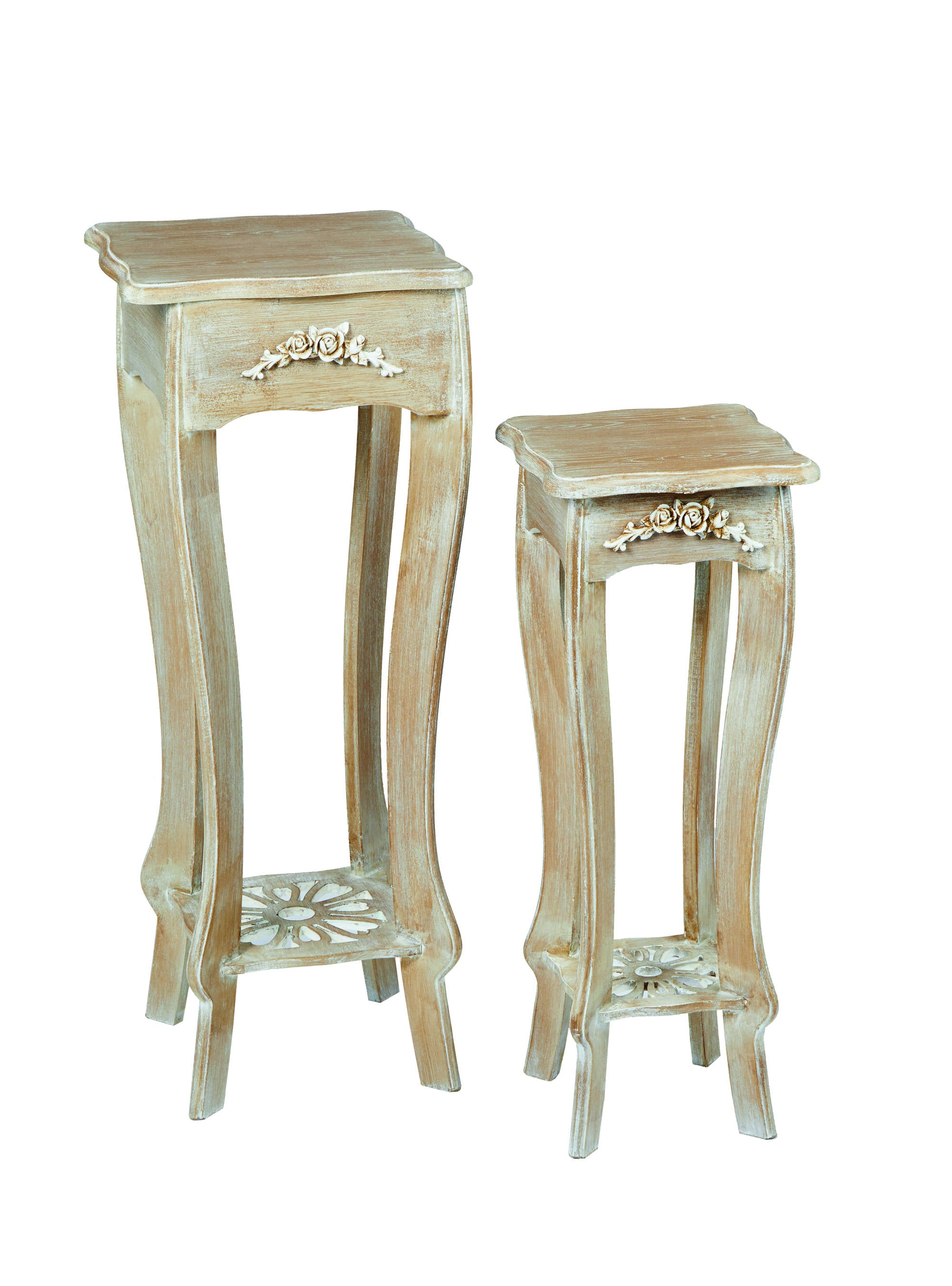 Nimes Set Of 2 Plant Stands - Ezzo