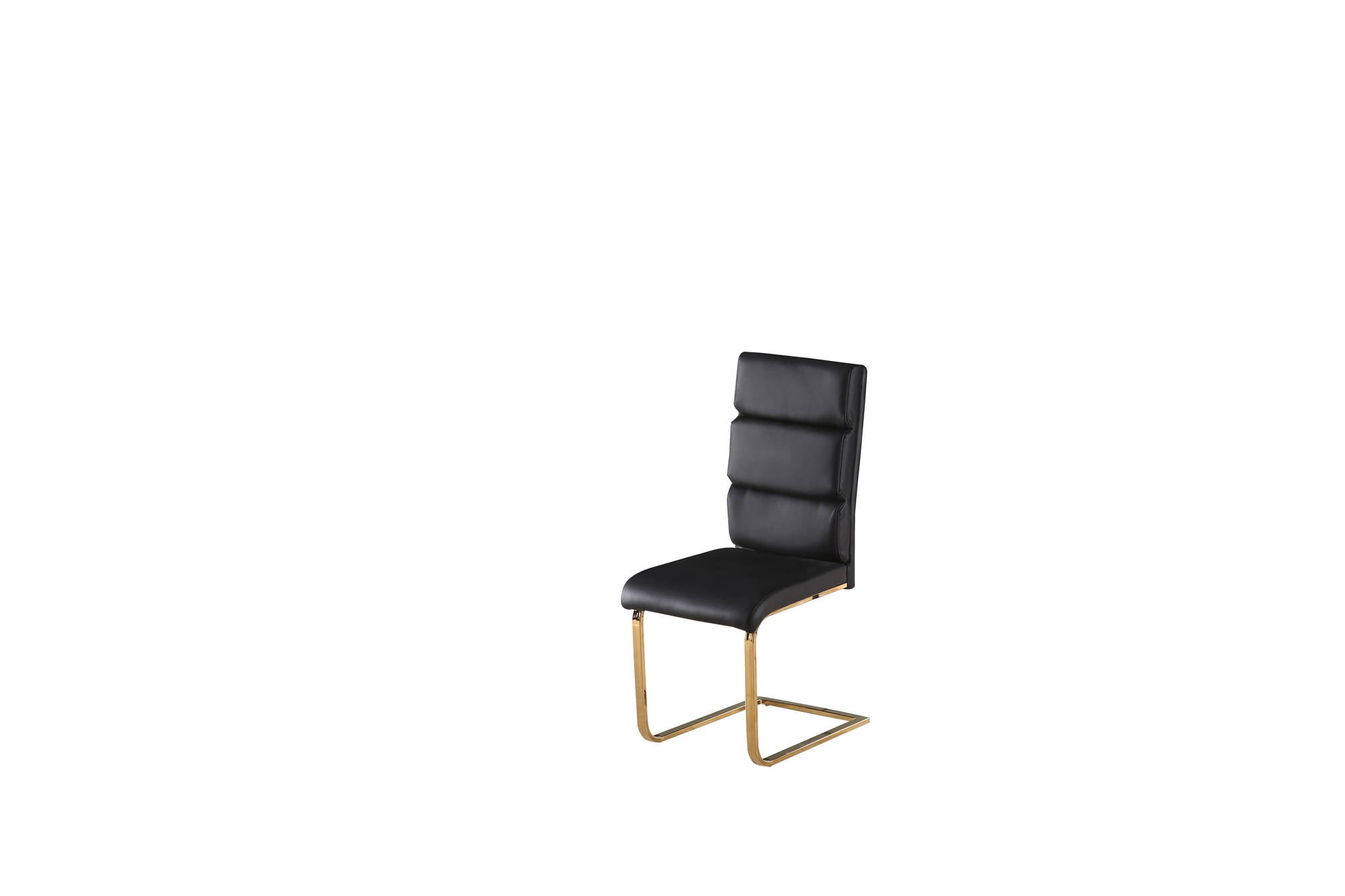 Nova Dining Chair in Black Pair