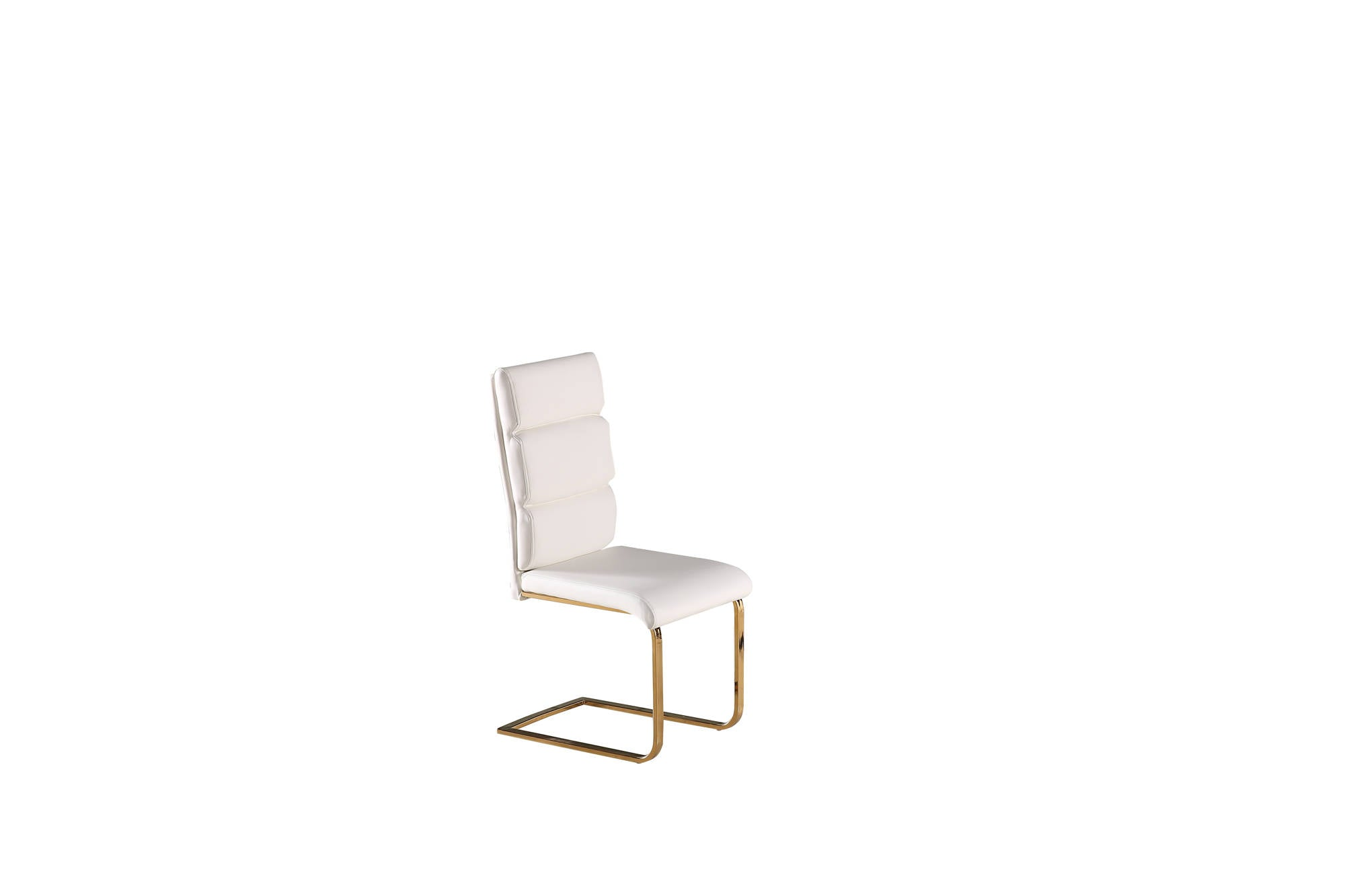 Nova Dining Chair in White Pair