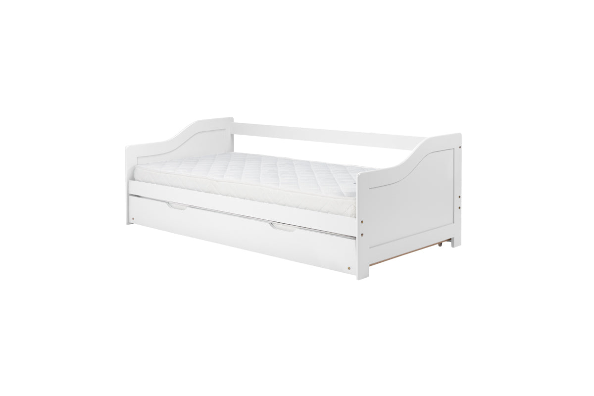 Oakland Trundle Bed in White