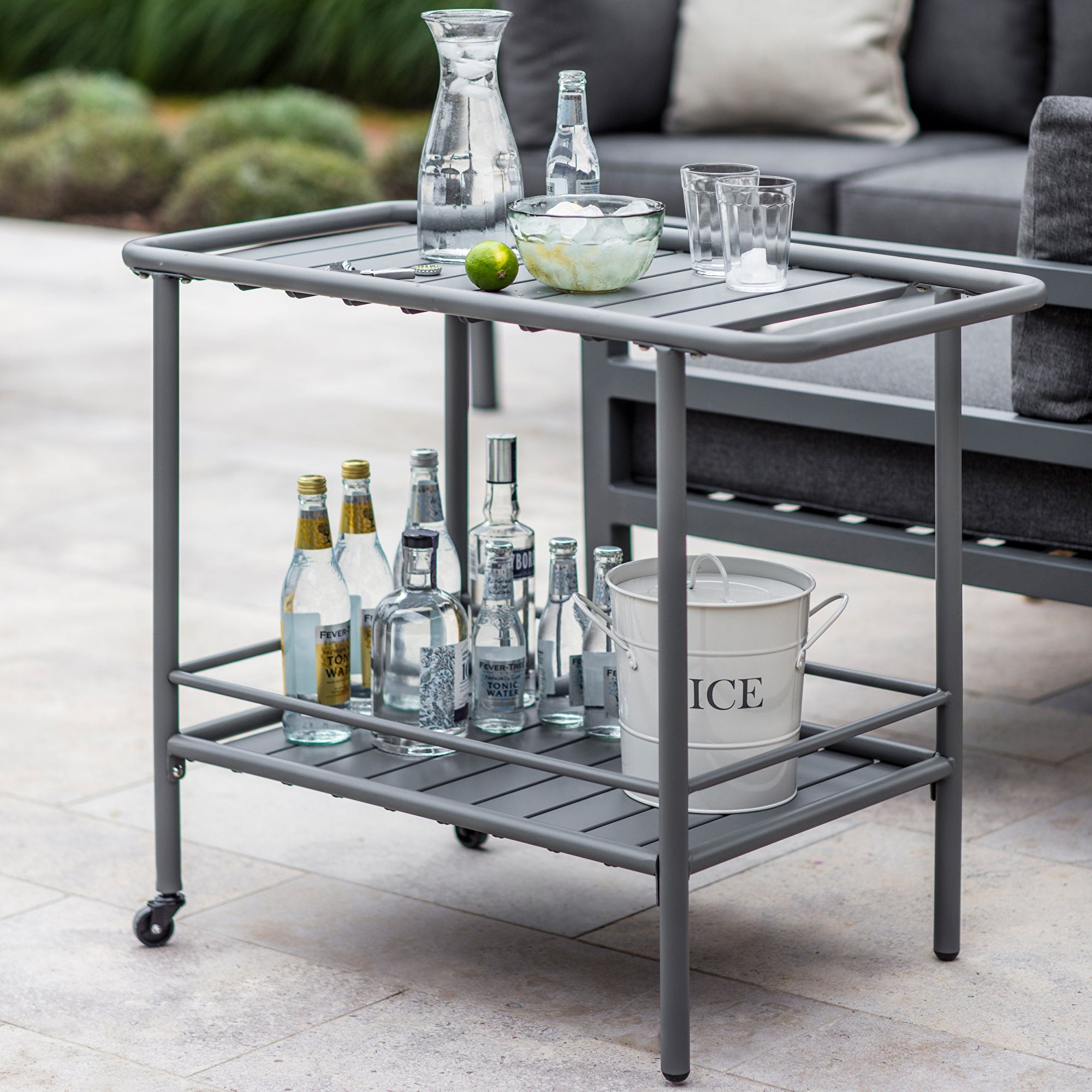 Oaklands Drinks Trolley