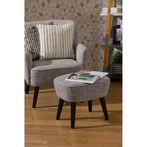 Odense Armchair With Footstool