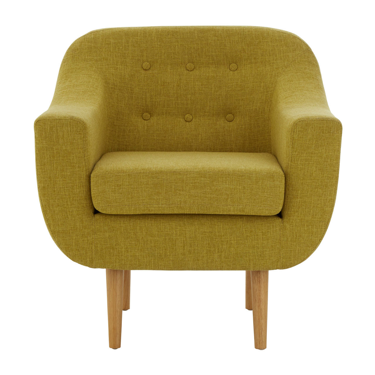 Odense Chair in Yellow