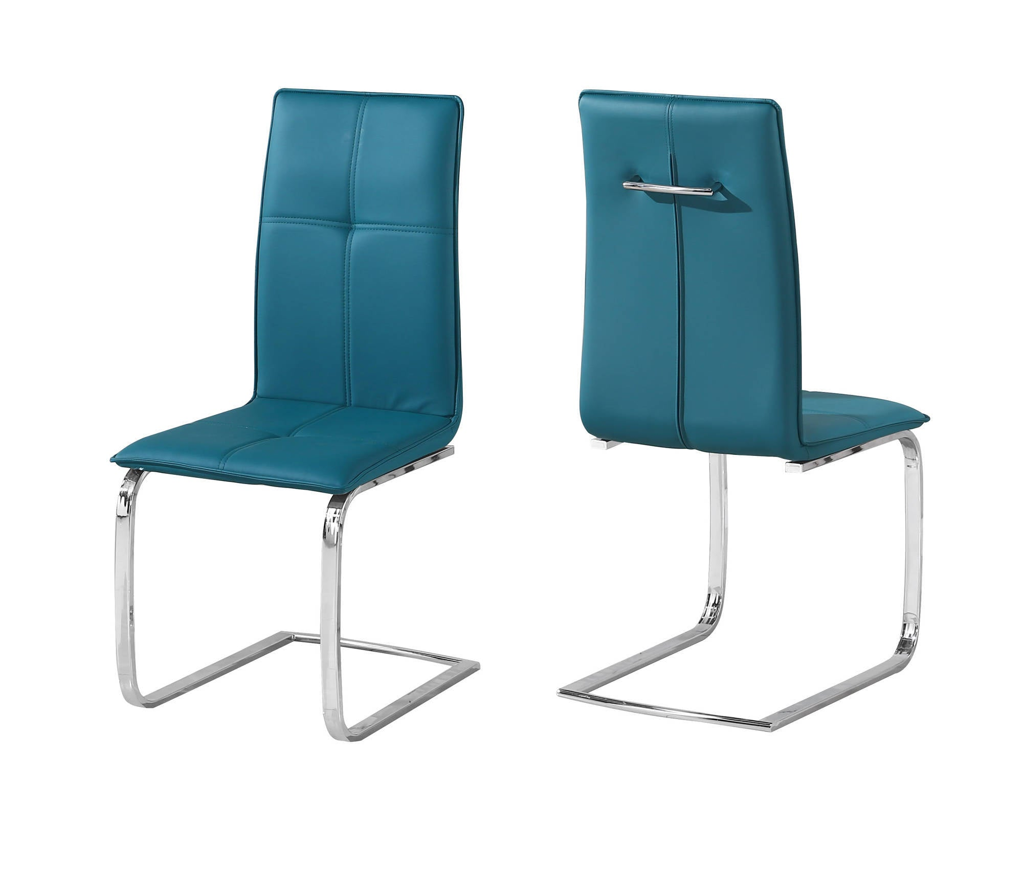 Oeuvre Dining Chairs in Teal - Ezzo