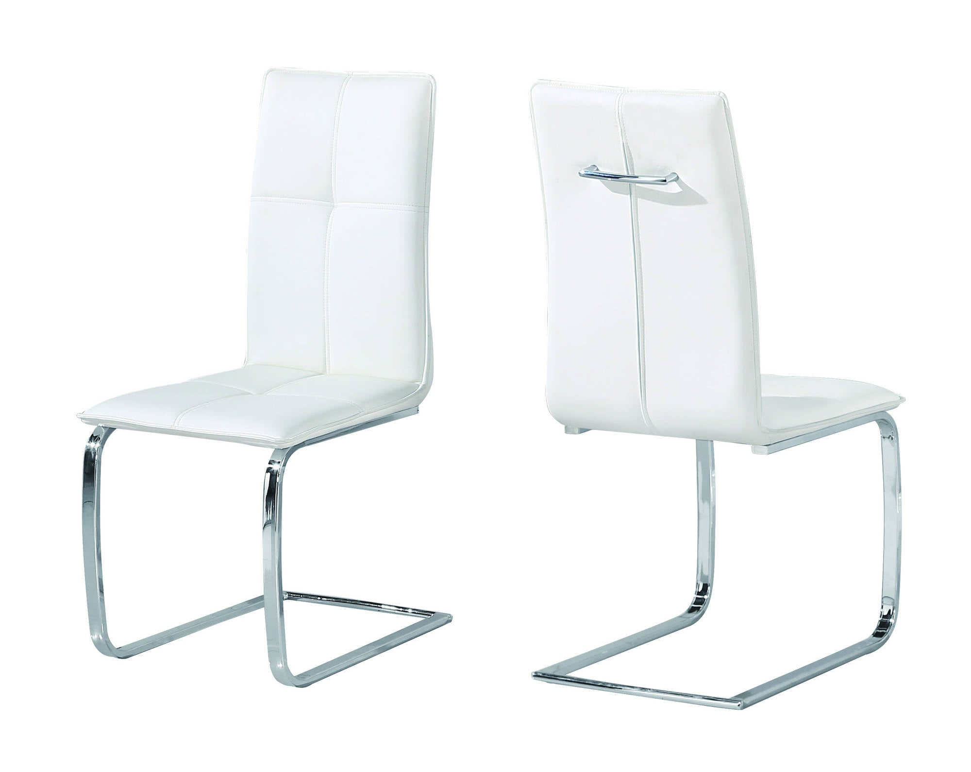 Oeuvre Dining Chairs in White - Ezzo