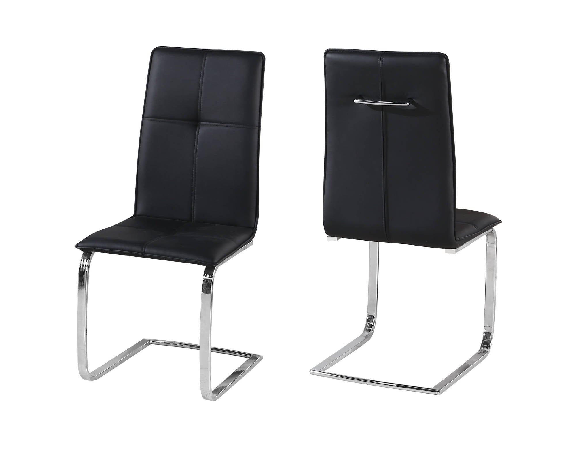 Oeuvre Dining Chairs in Black - Ezzo