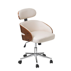 Office Chair in Cream