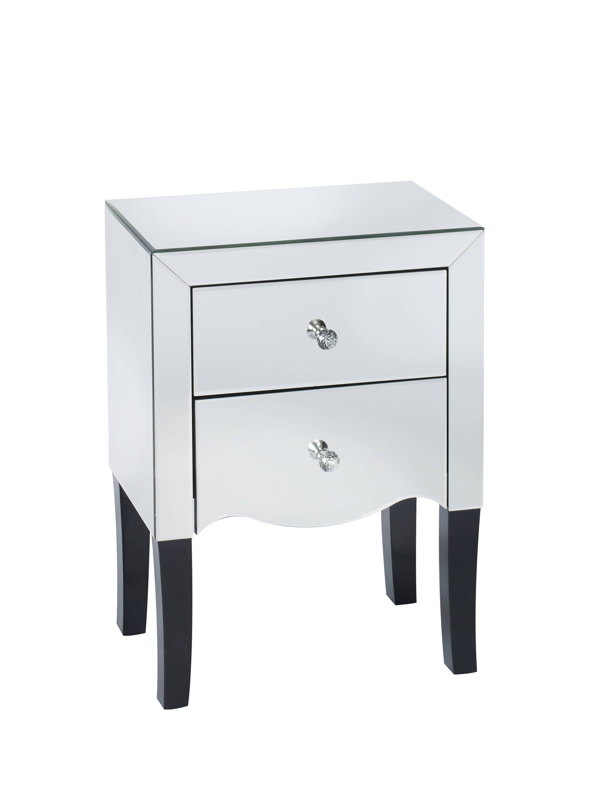 Paloma 2 Drawer Bedside Table - Ezzo