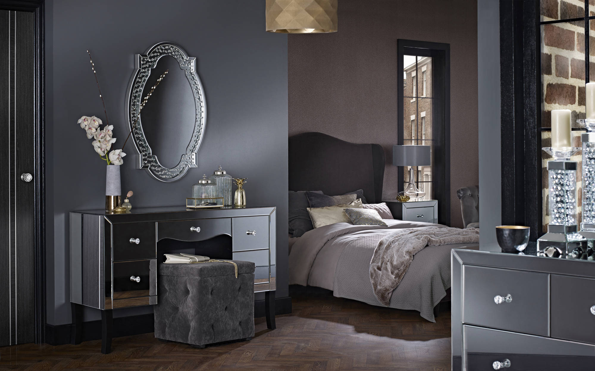 Paloma Dressing Table - Ezzo