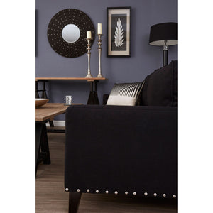 Regents Park 3 Seat Sofa in Black