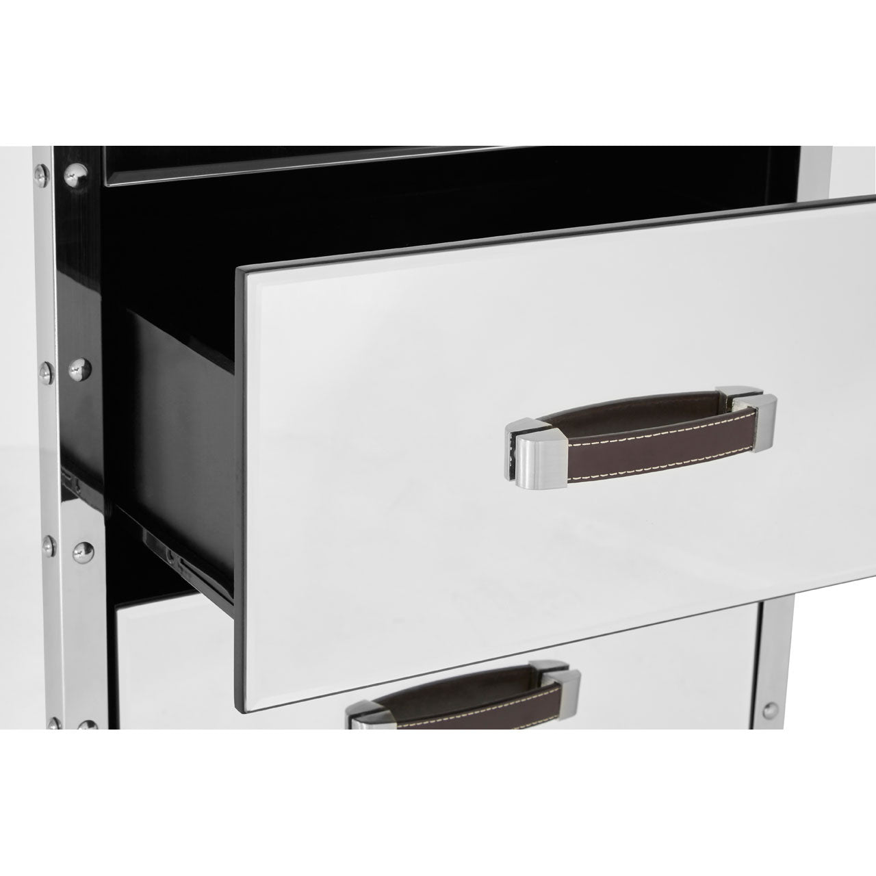 Rivet Stainless Steel Sideboard