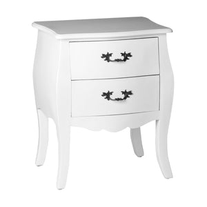 Satine 2 Drawer Chest White