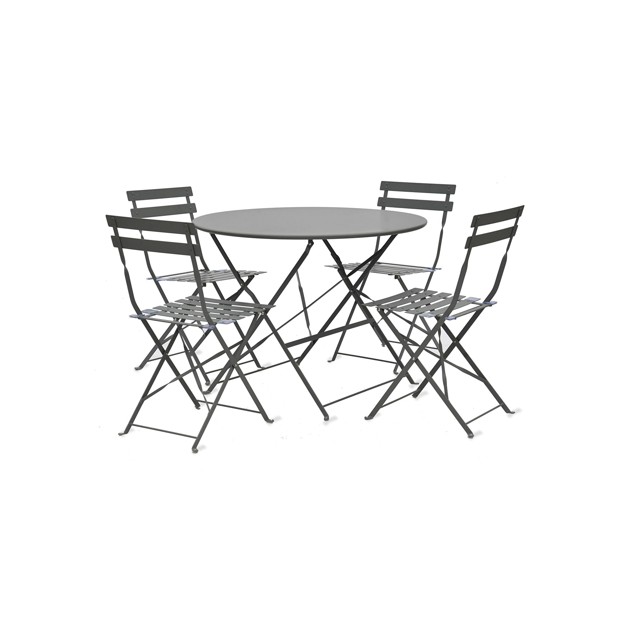 Seine Bistro Set in Carbon