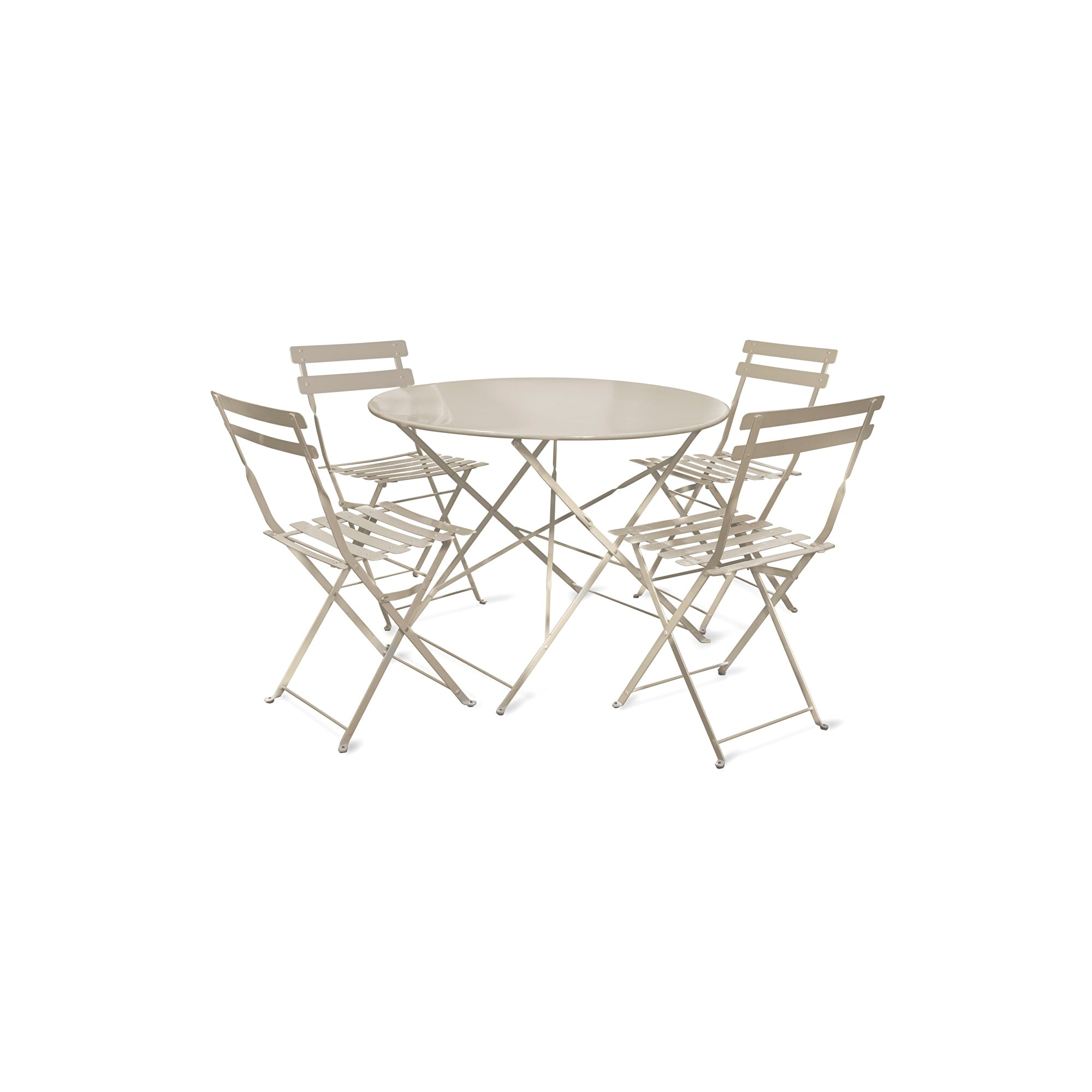 Seine Bistro Set in Clay - Ezzo