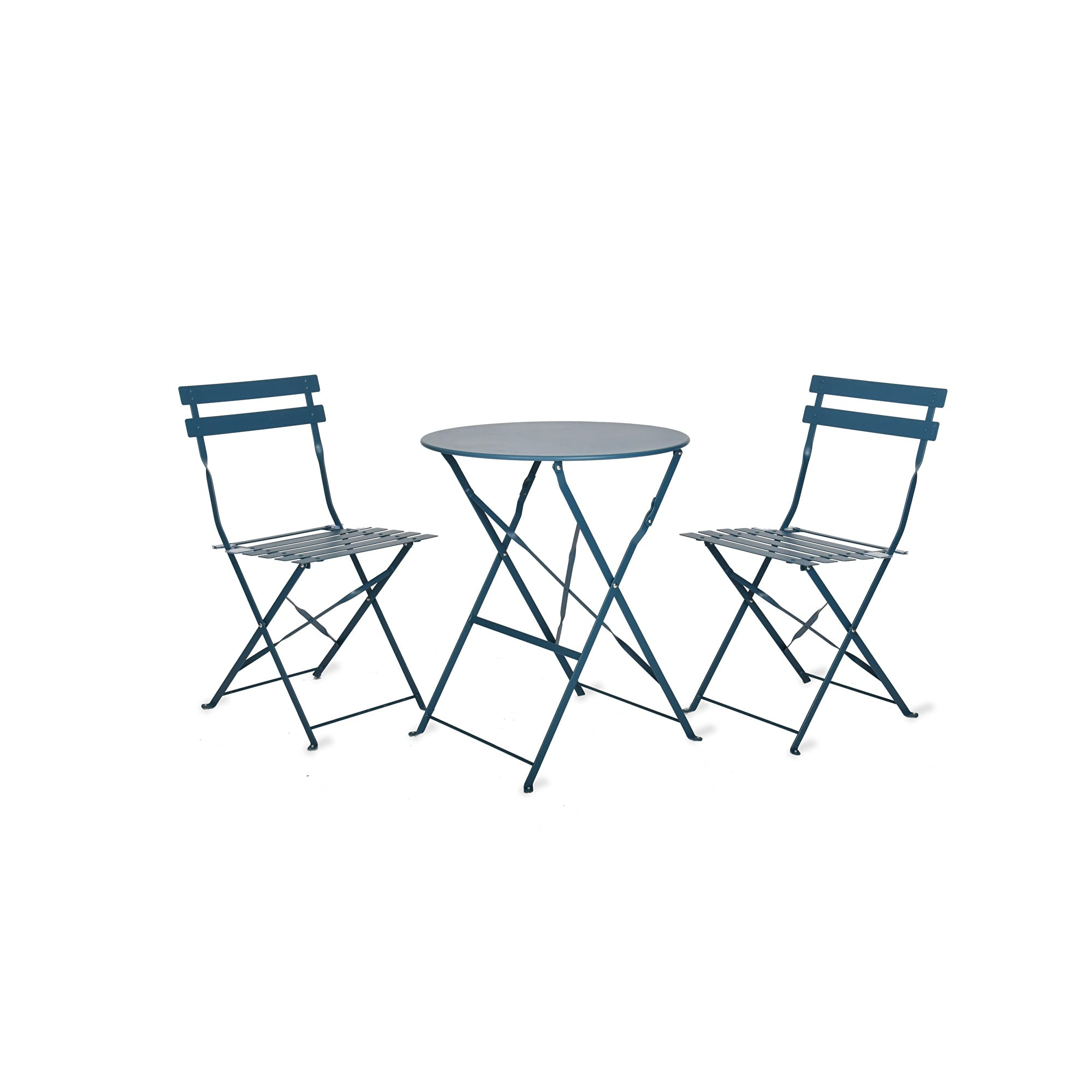 Seine Small Bistro Set in Teal