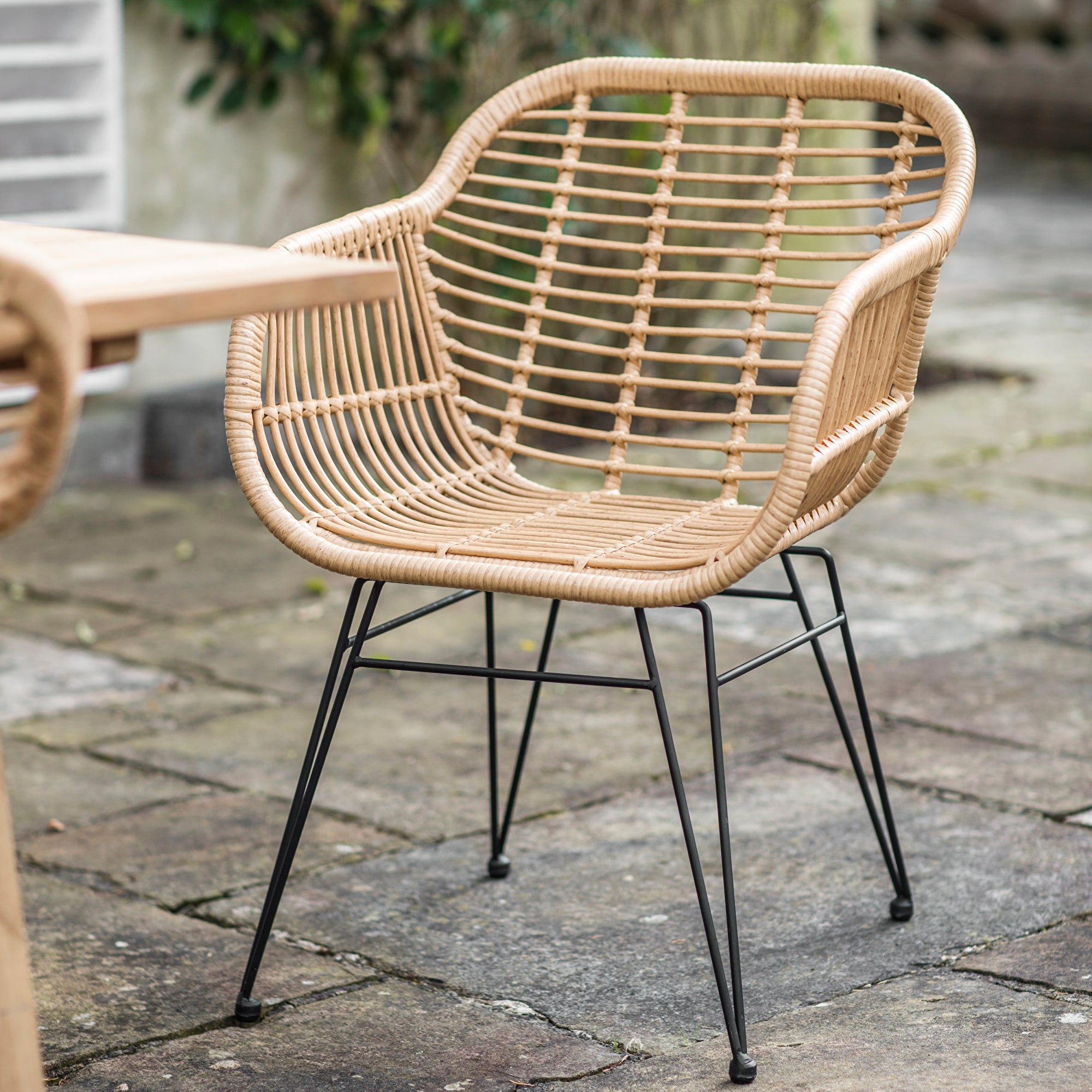 Set of 2 Keats Bamboo Chairs