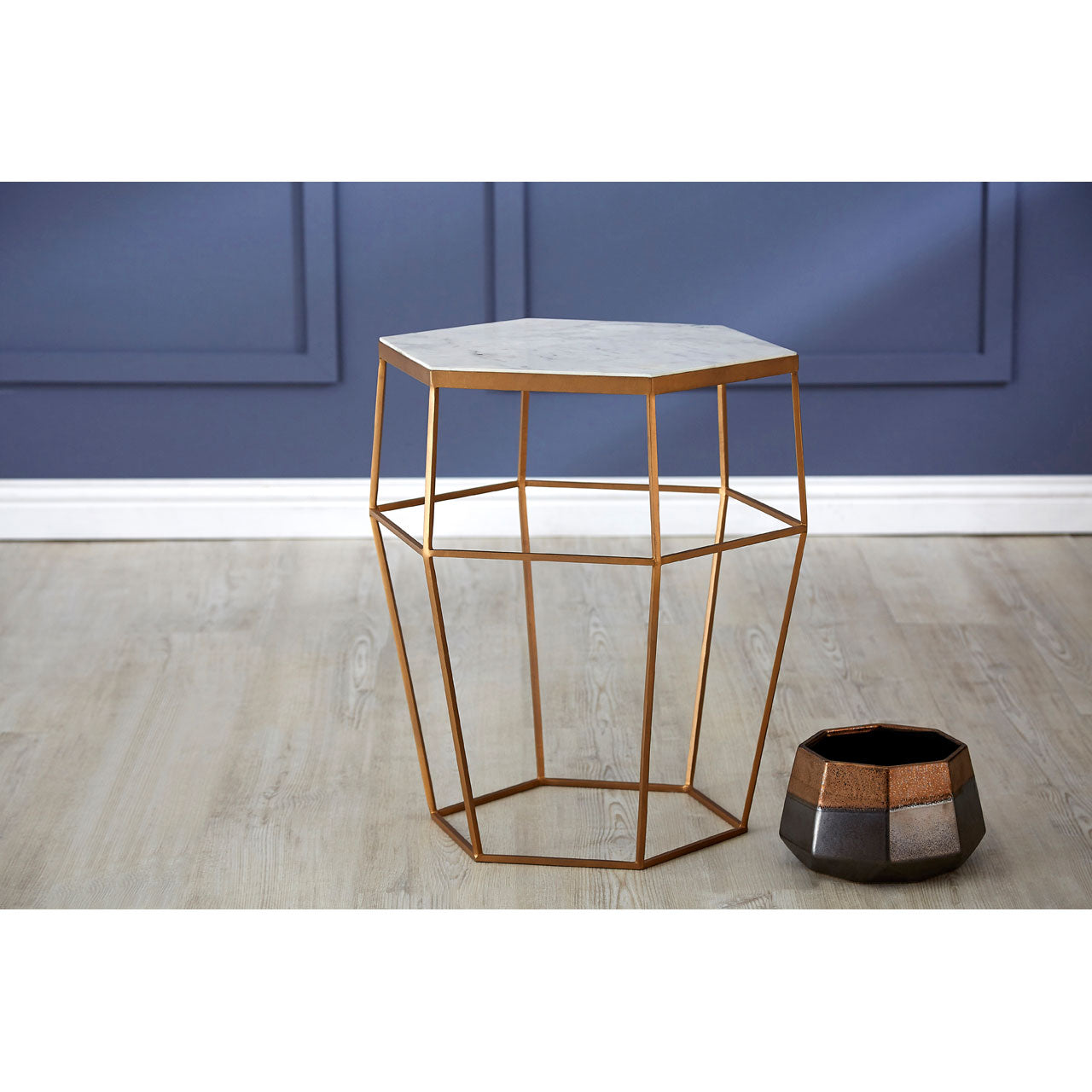 Shalimar Hexagonal Side Table