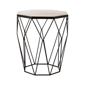 Shalimar Octagon Side Table