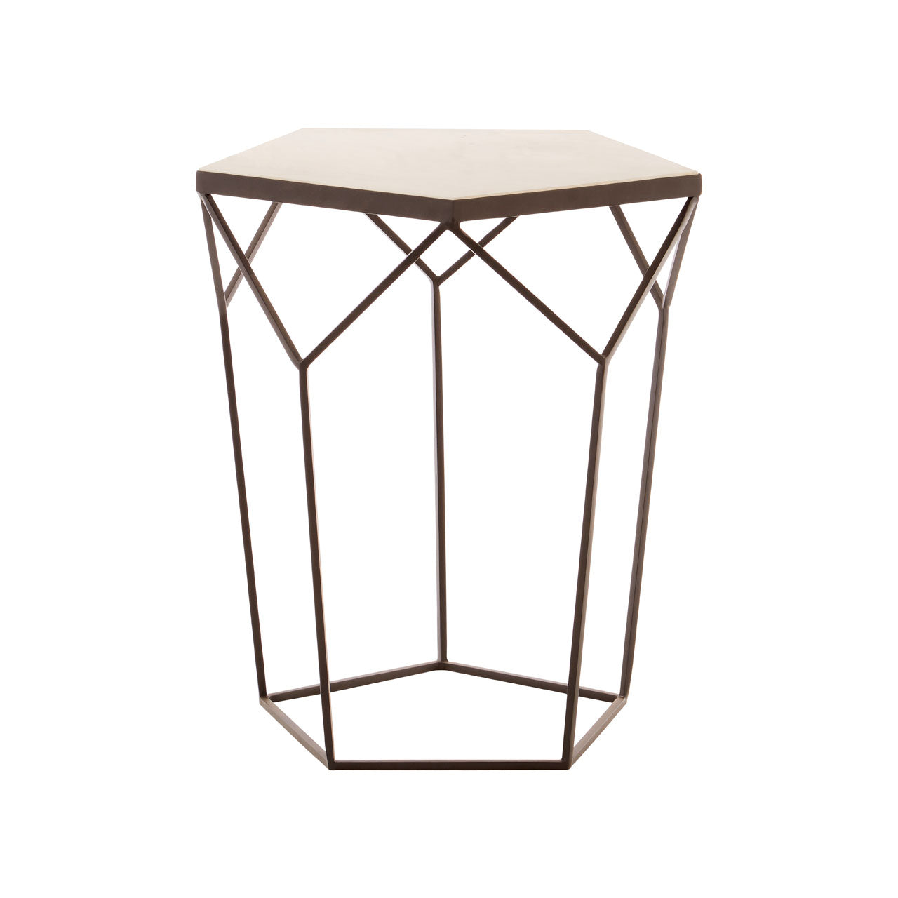 Shalimar Pentagonal Side Table