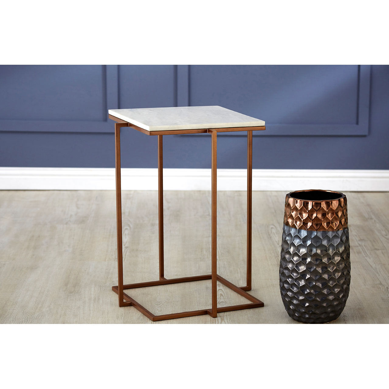 Shalimar Side Table Marble
