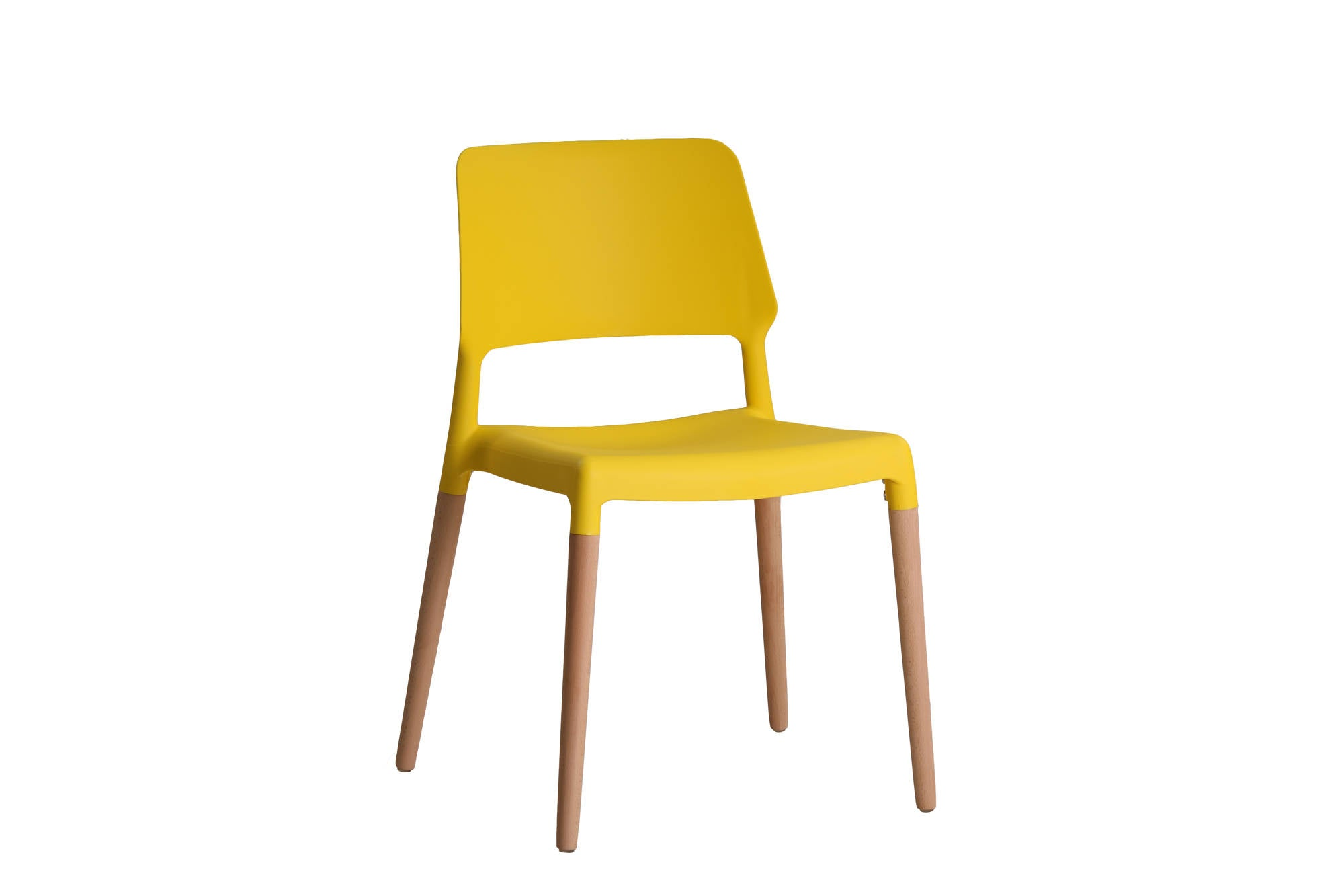 Shore Dining Chairs in Yellow - Ezzo