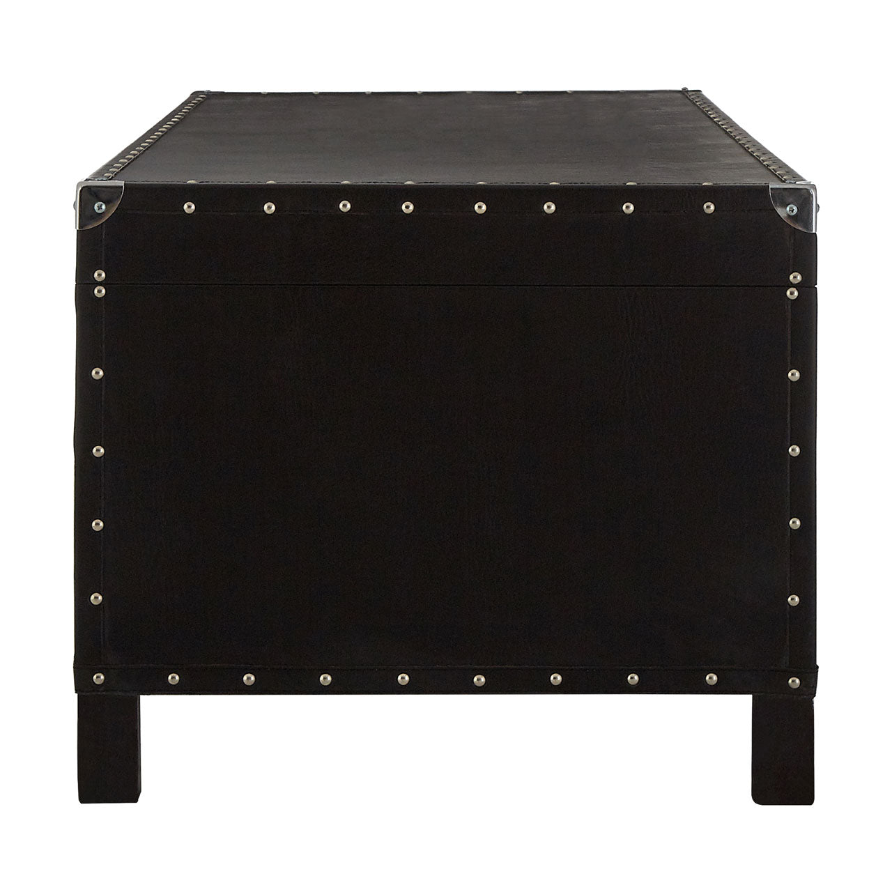 Sloane Coffee Table Black Leather