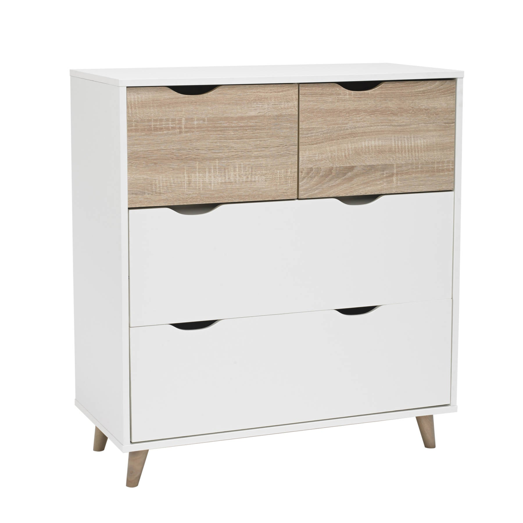 Solna 4 Drawer Chest - Ezzo