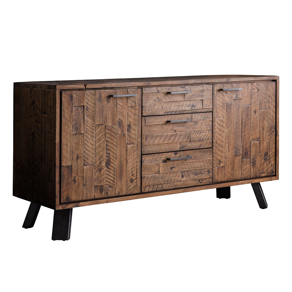 Somers 2 door 3 Drawer Sideboard Rustic - Ezzo