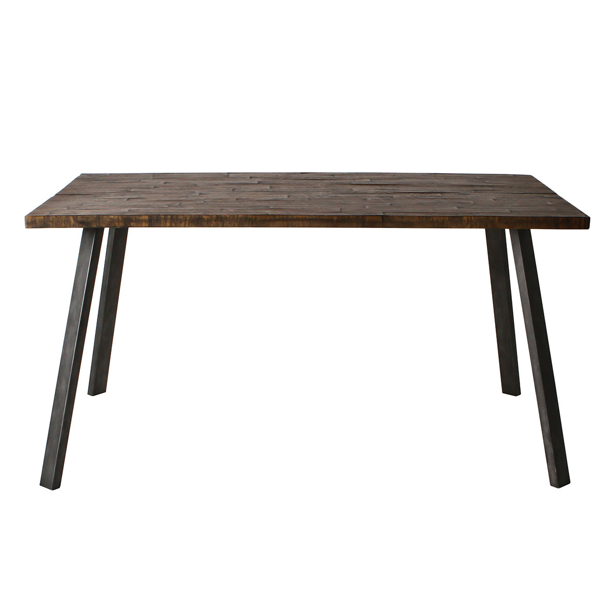 Somers Rectangular Dining Table Rustic - Ezzo