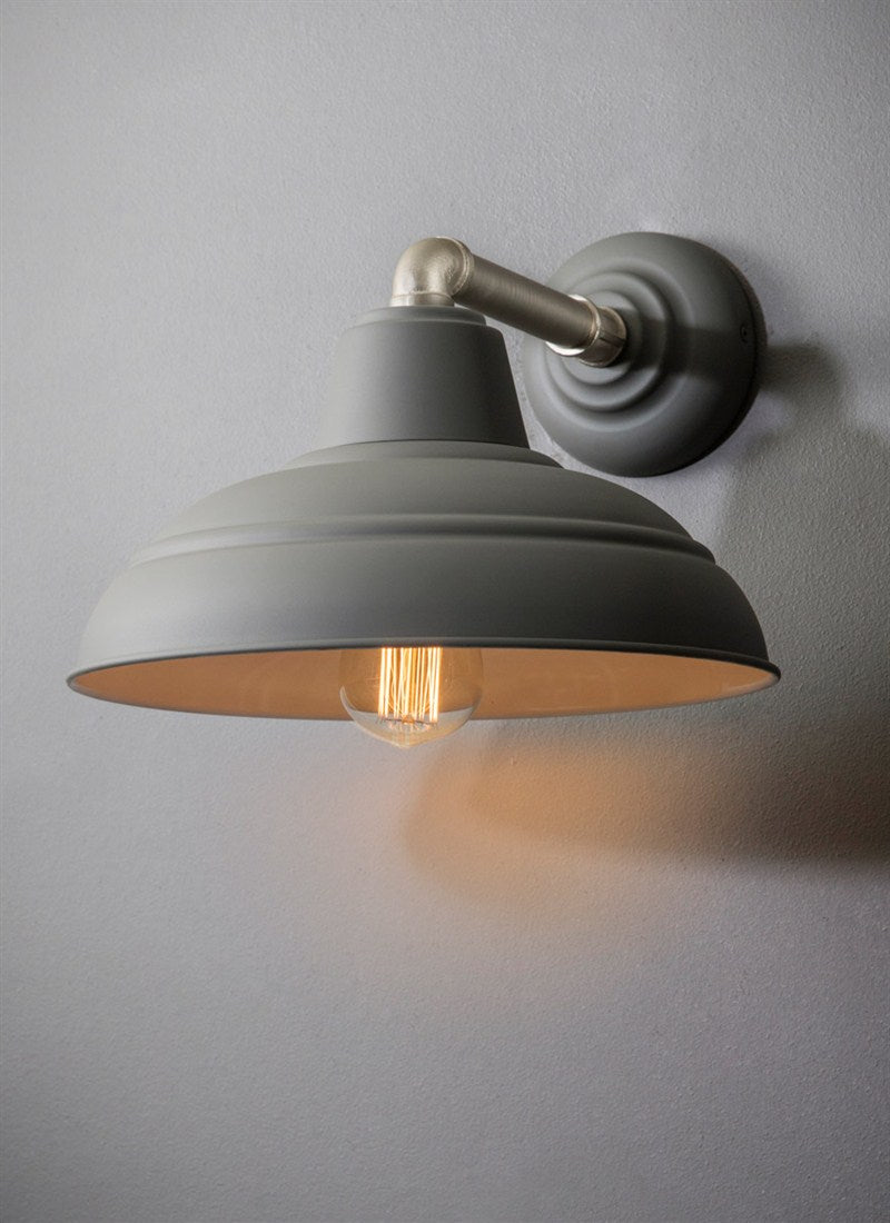 Southwark Wall Light in Charcoal - Ezzo