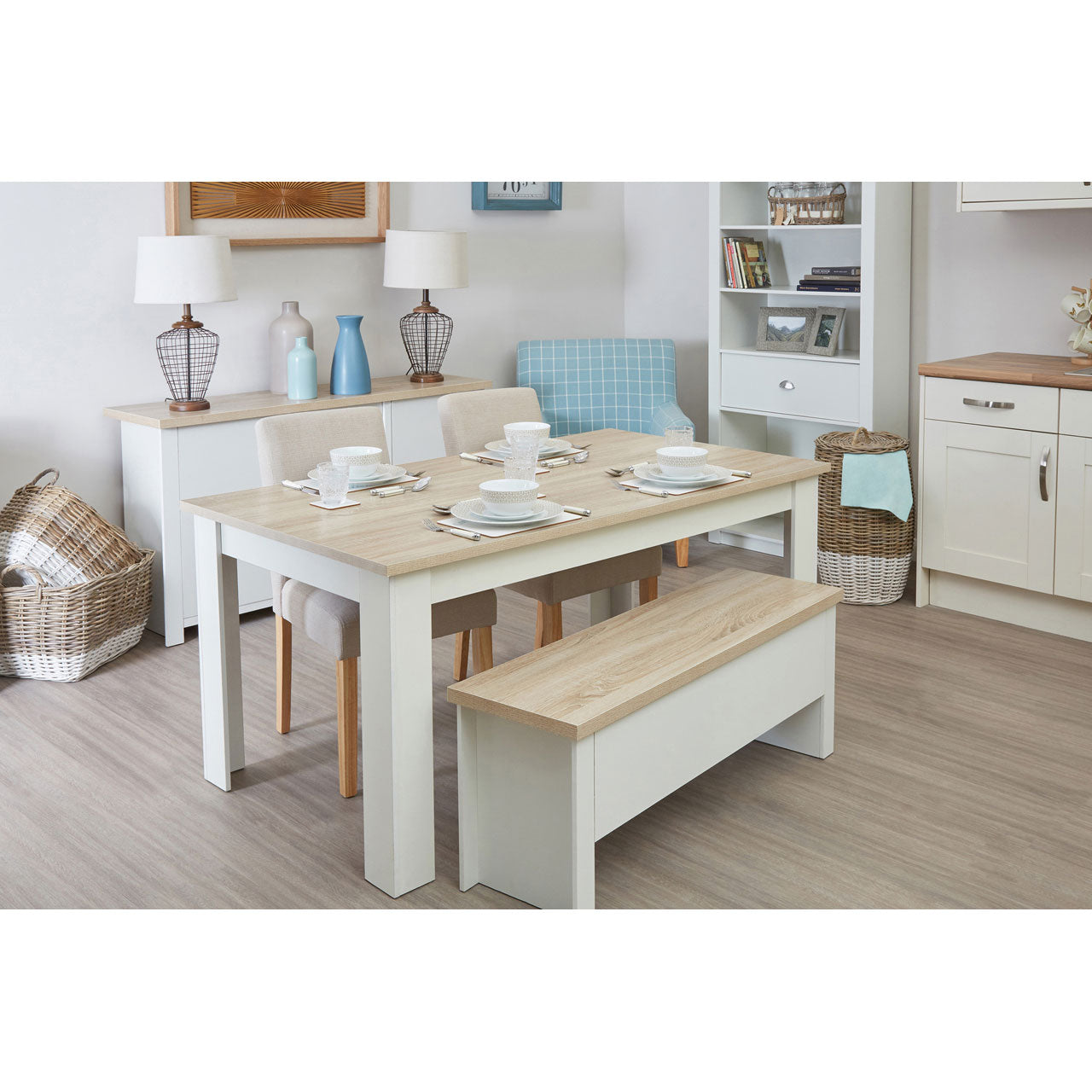 St Ives Large Dining Set