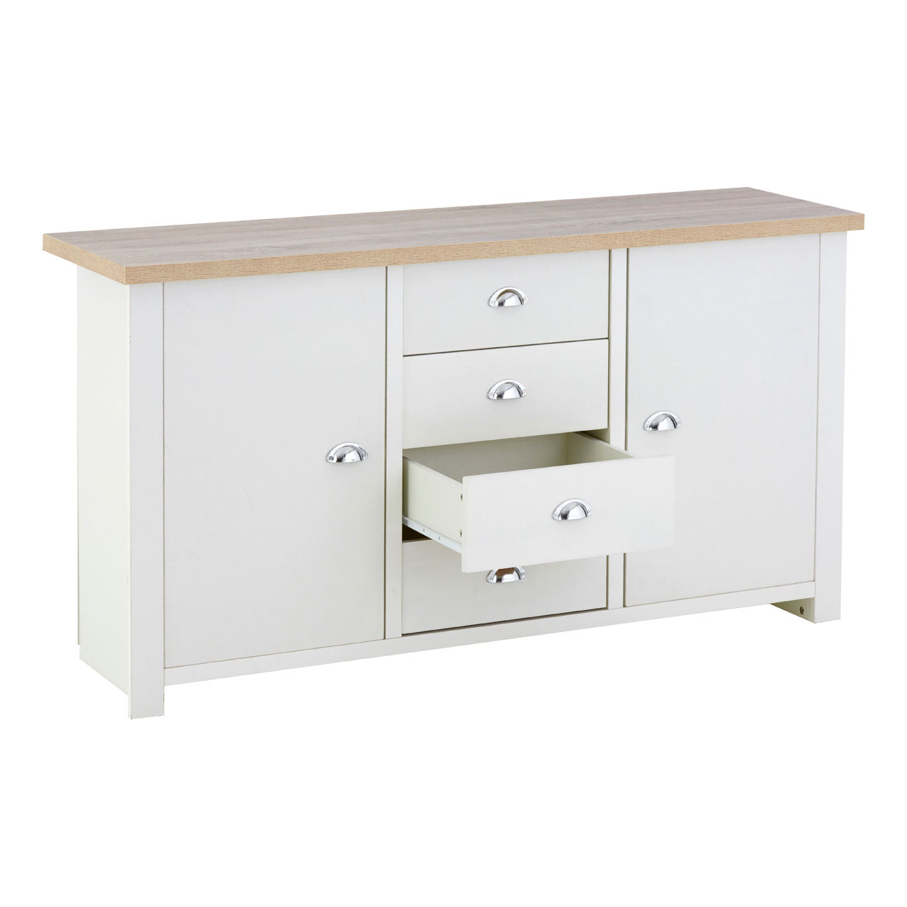 St Ives Large White Sideboard