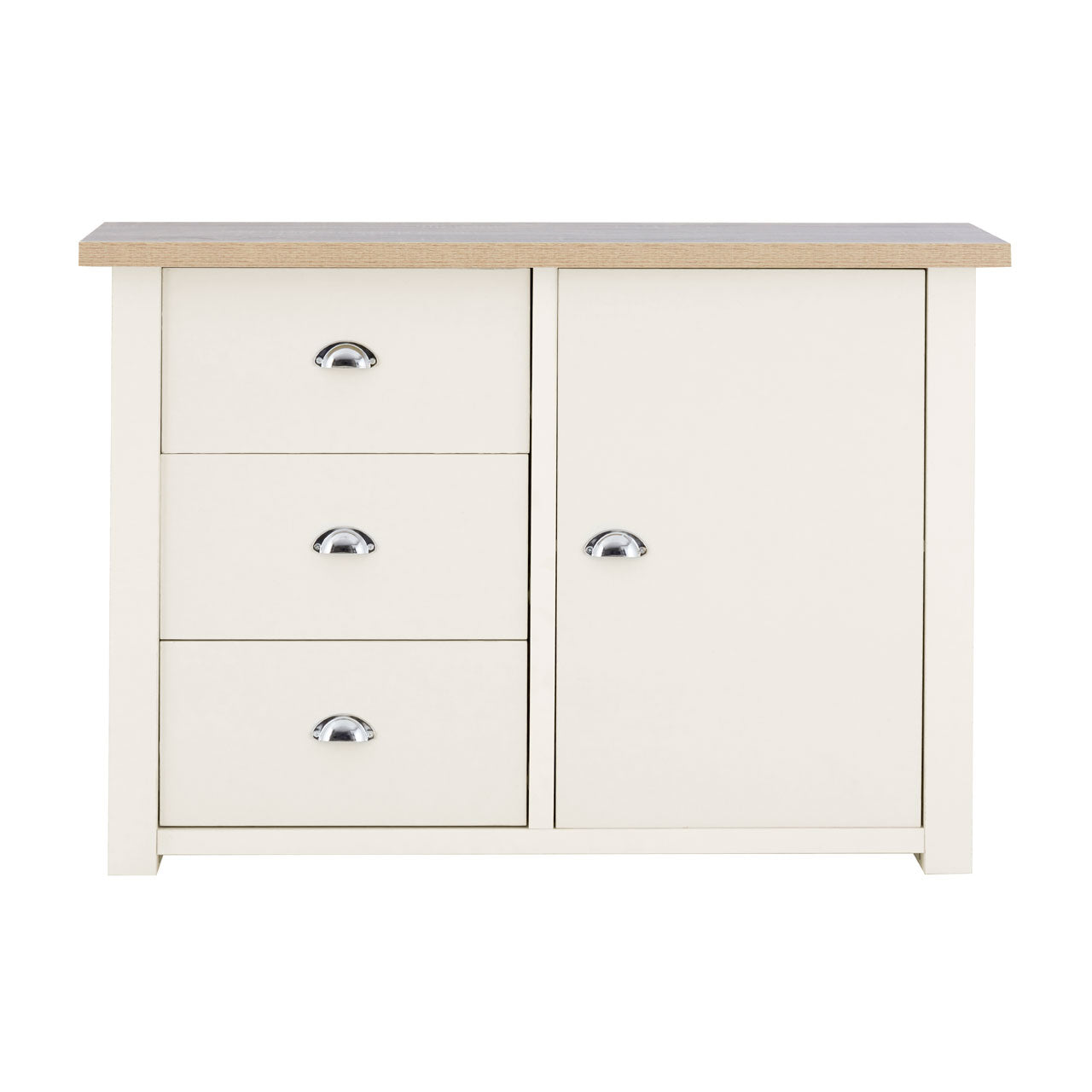St Ives White Small Sideboard