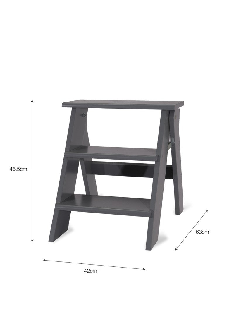 Step Stool in Charcoal - Ezzo