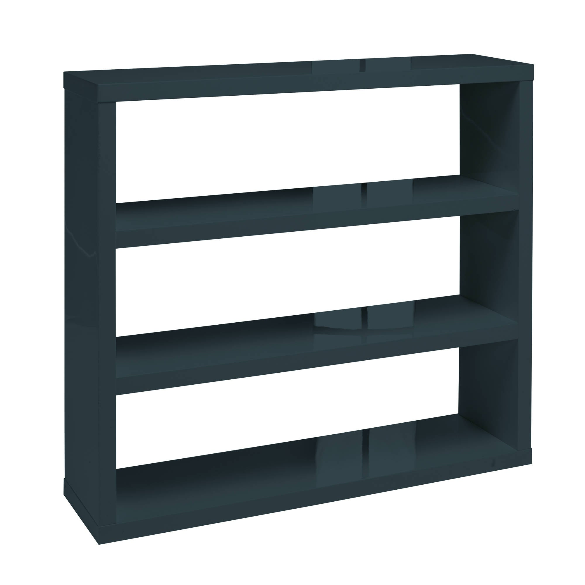 Sterling Bookcase in Charcoal - Ezzo