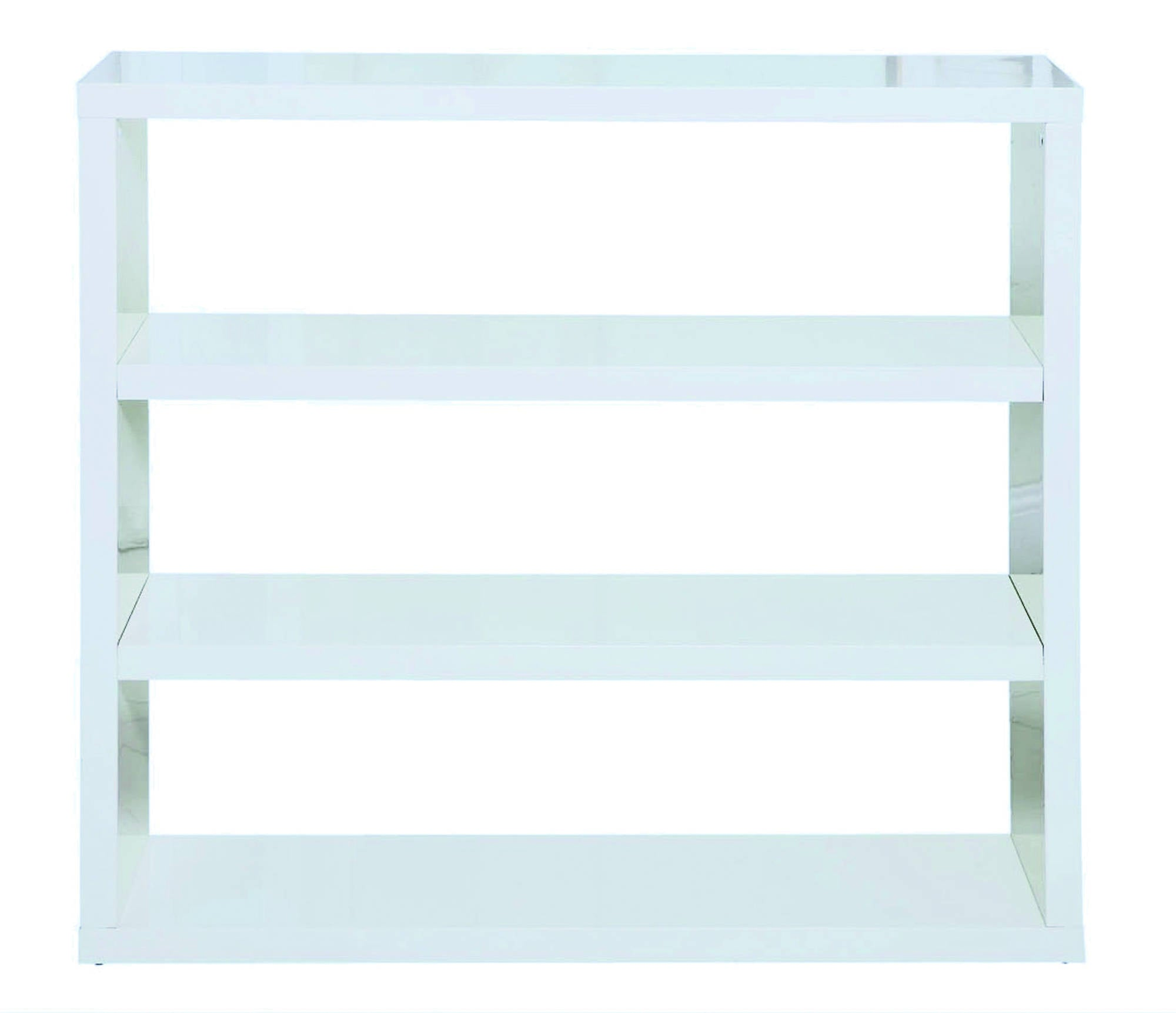 Sterling Bookcase in White - Ezzo