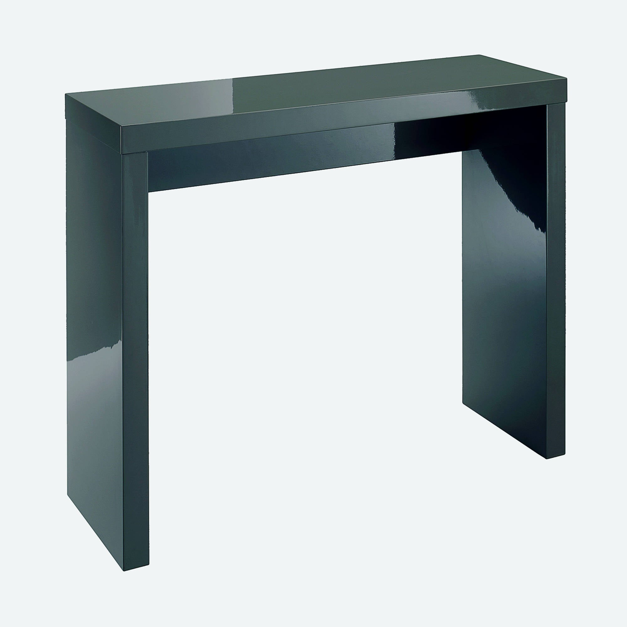 Sterling Console Table in Charcoal