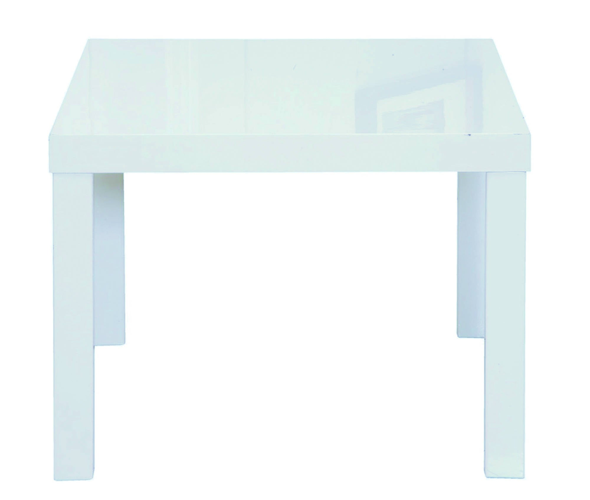 Sterling Lamp Table in White
