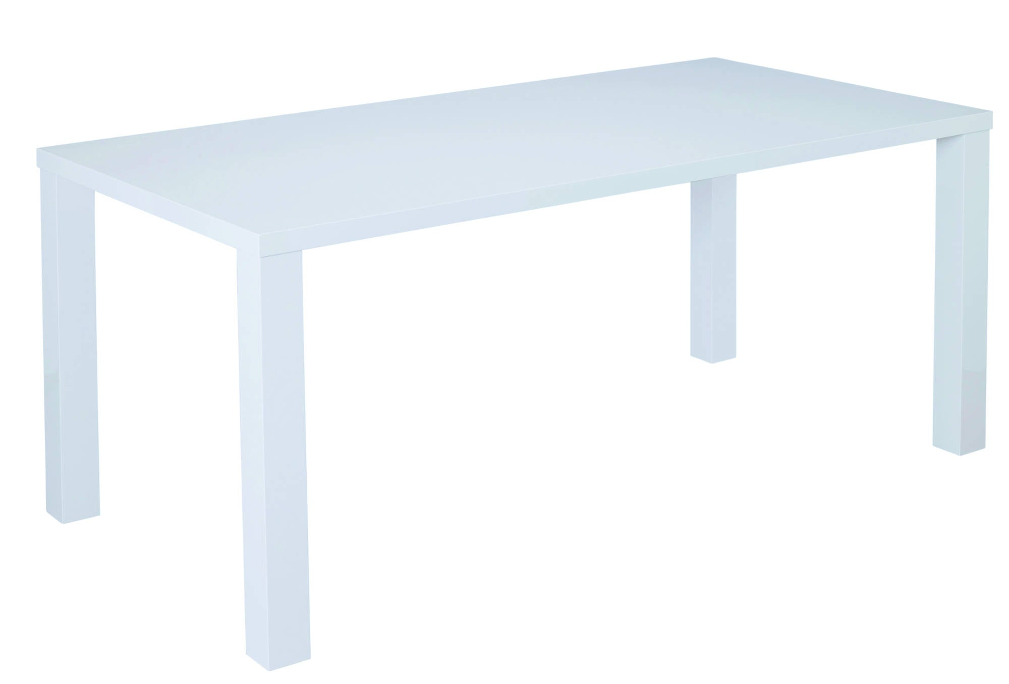 Sterling Large Dining Table in White - Ezzo